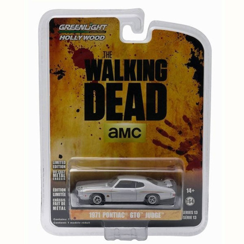 greenlight the walking dead 1971 pontiac gto judge  1:64