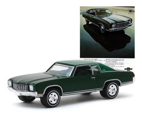 greenlight vintage 1970 chevrolet monte carlo 1:64