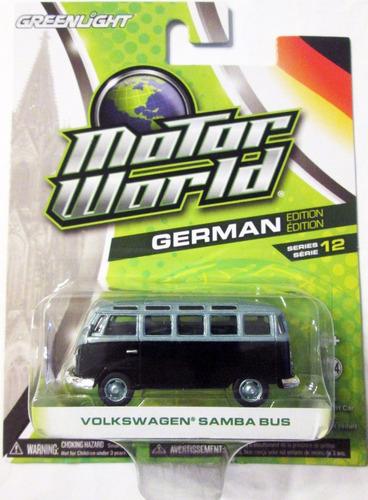 greenlight  volkswagen kombi escala 1/64 mide 6,5 cm