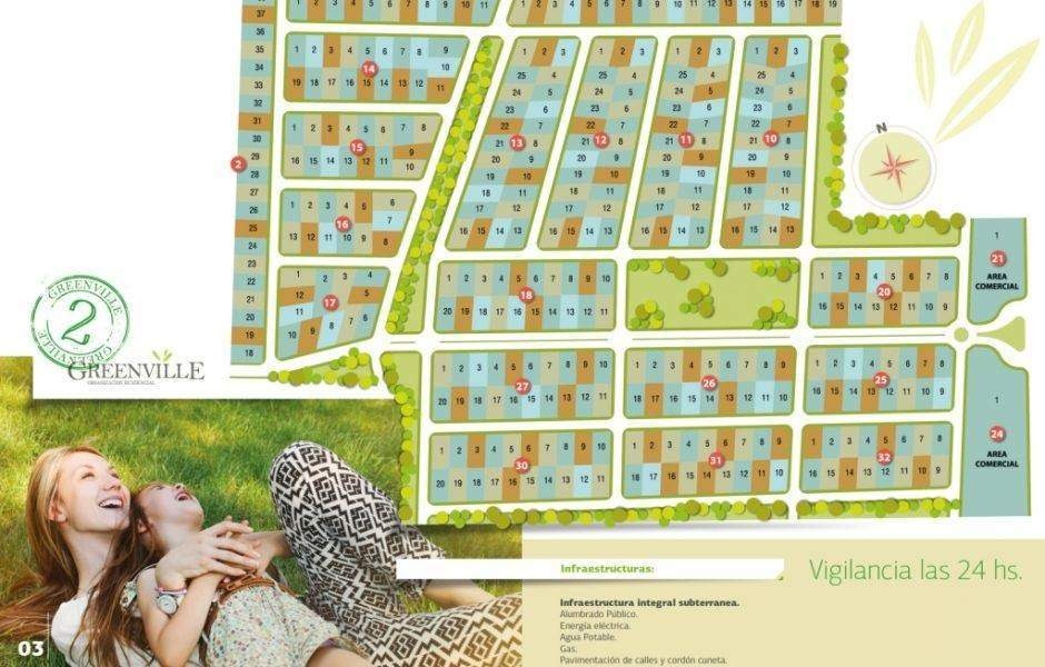 greenville 2 lotes centrales y perimetrales
