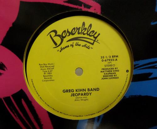 greg kihn band - jeopardy  12 vinyl import