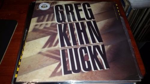 greg kihn lucky vinilo maxi uk muy buen estado caño