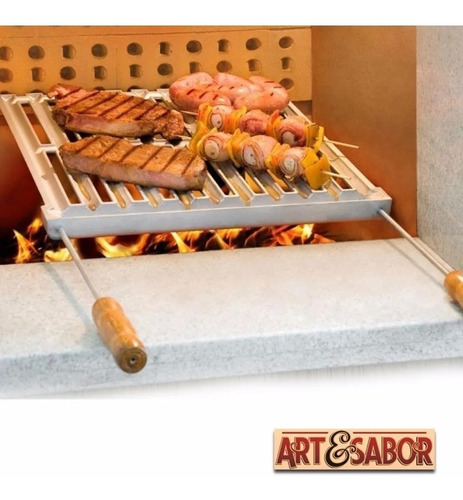 grelha churrasco argentina parrilha art sabor promoção