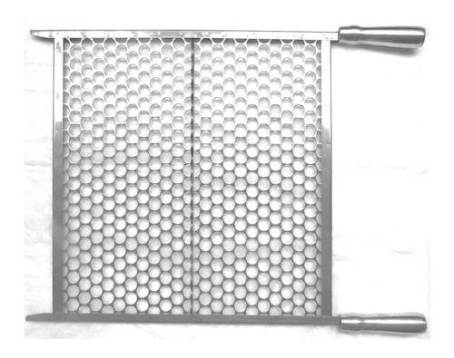 grelha churrasqueira inox moeda 50cm ou 55cm ou 60cm larg
