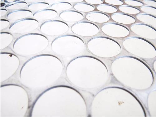 grelha inox churrasqueira cabo alum (40x50) ótima qualidade