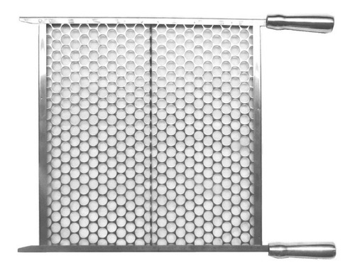 grelha moeda inox para churrasco 40x48, 45cm ou 50cm largura