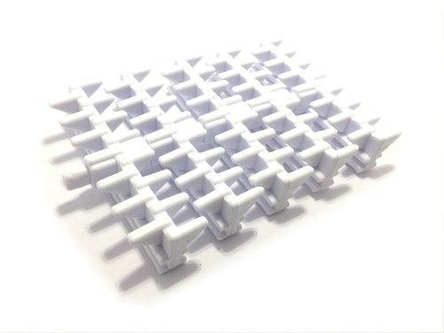 grelha plastica flexivel 10 cm para piscinas