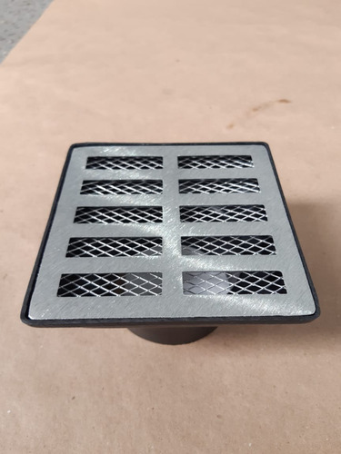 grelha pluvial 15x15 tela anti insetos caixa coletor s.baixa