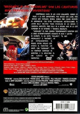 gremlins 1984 zach galligan pelicula dvd