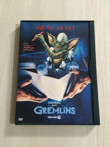 gremlins - dvd importado - novo (aberto)