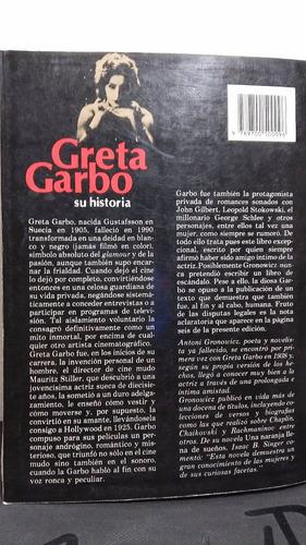 greta garbo su historia de antoni gronowicz libro de 440 pag