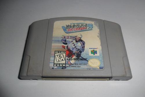 gretzy's 3d hockey 98 original nintendo 64