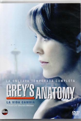 grey s anatomy onceava temporada 11 once dvd