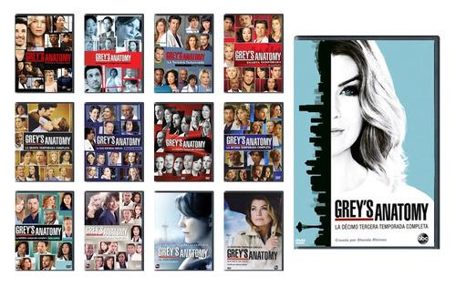 grey ' s anatomy paquete temporadas 1 - 13 serie tv en dvd