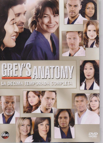 grey ' s anatomy temporada 10 diez serie tv dvd