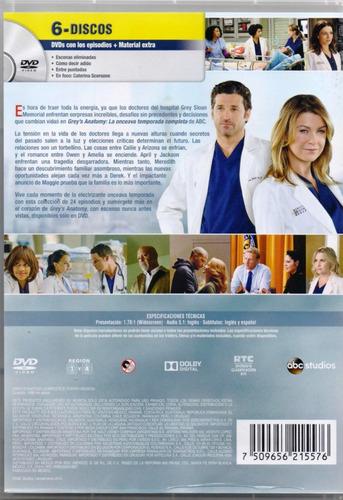 grey s anatomy temporada 11 once onceava dvd