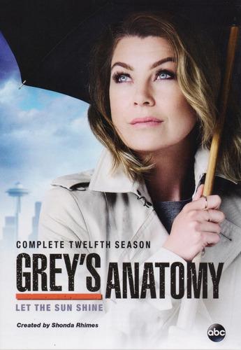 grey ' s anatomy temporada 12 doce importada dvd