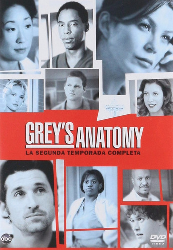 grey ' s anatomy temporada 2 dos serie tv dvd