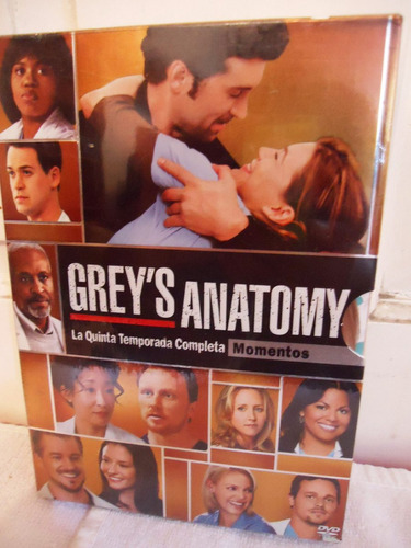 grey ´ s anatomy temporada 5 cinco serie tv dvd