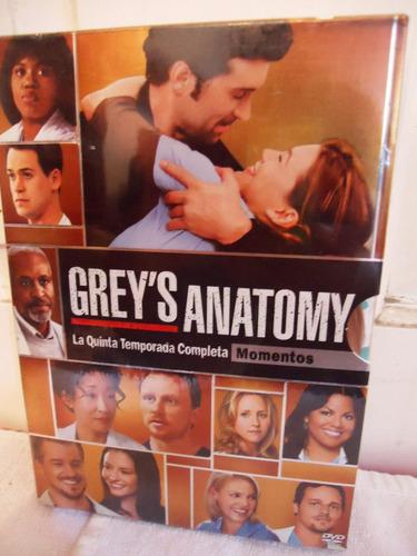 grey ´ s anatomy temporada 5 cinnco serie tv dvd