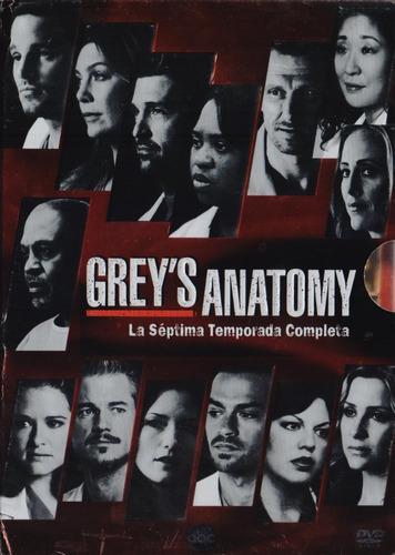 grey ´ s anatomy temporada 7 siete septima dvd