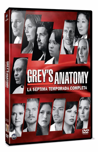 grey ´ s anatomy temporada 7 siete serie tv en dvd