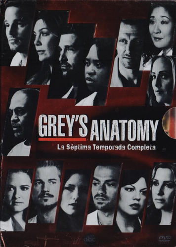 grey ' s greys anatomy temporada 7 siete septima dvd