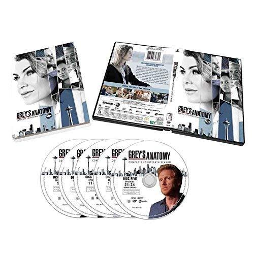 grey's anatomy season 14 (juego de dvd de 5 discos ...