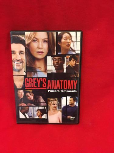 greys anatomy primera temporada dvd original