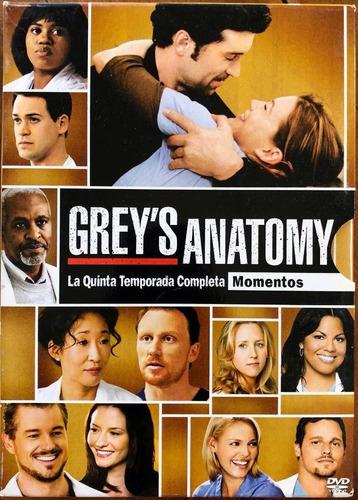 grey's anatomy - quinta temporada - momentos