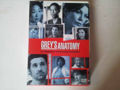grey's anatomy temporada 2 dvd