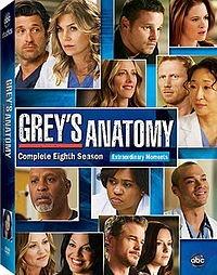 grey's anatomy temporada 8 dvd original nuevo sellado