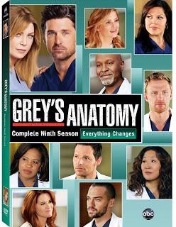 grey's anatomy temporada 9 dvd original nuevo sellado