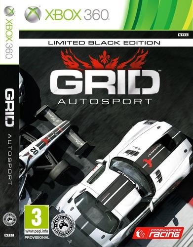 grid autosport black edition novo lacrado midia fisica
