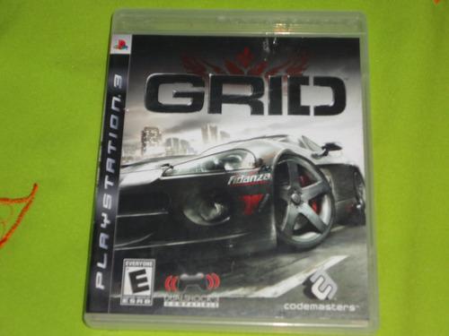 grid ( jogo original ps3 )
