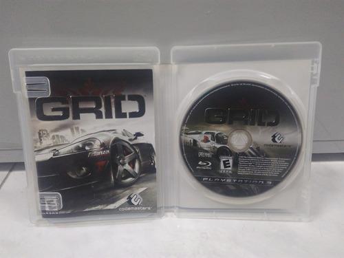 grid - playstation 3 - mídia física