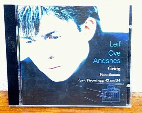 grieg: piano sonata, lyric pieces op.43, 54 - leif andsnes