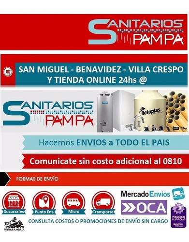 grif. convencional lavatorio viva plus - g. latina - vp3100