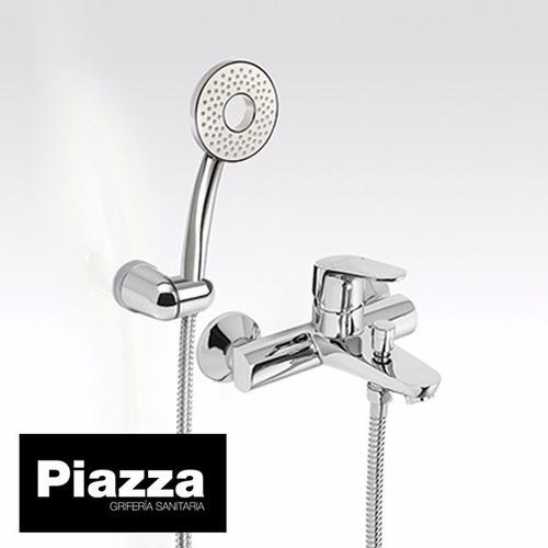 grifería baño ducha exterior monocomando piazza dot 10108
