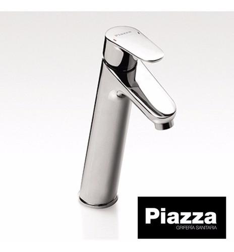 grifería baño lavatorio alto monocomando piazza dot 10102