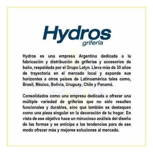 grifería baño lavatorio bidet hydros level cierre cerámico