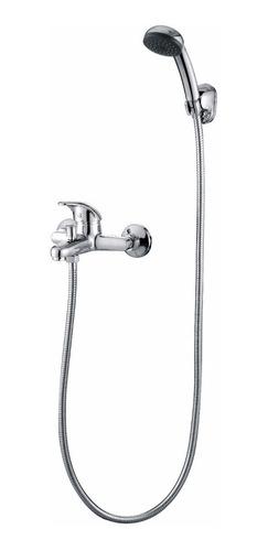 griferia canilla ducha baño con transf hydros viva cruz