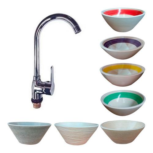 griferia cierre ceramico bacha rustica apoyar deco baño