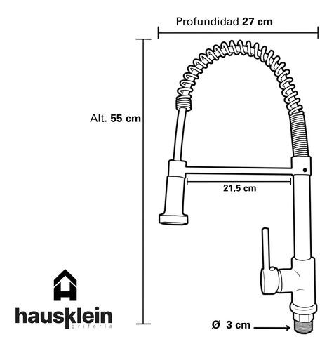 griferia cocina hausklein havel gourmet extensible s001