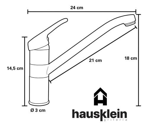 griferia cocina hausklein monocomando spree simil arizona
