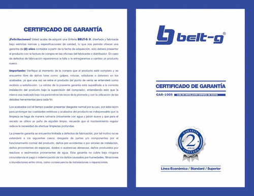 griferia ducha manilla globe 1/4 vuelta belt-g gri-1981