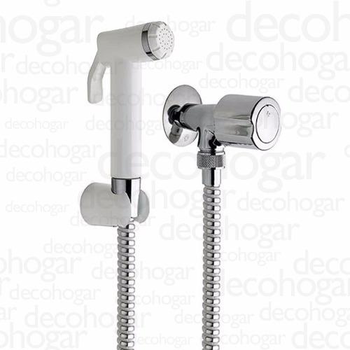 grifería fv allegro ducha manual para bidet cromada baño