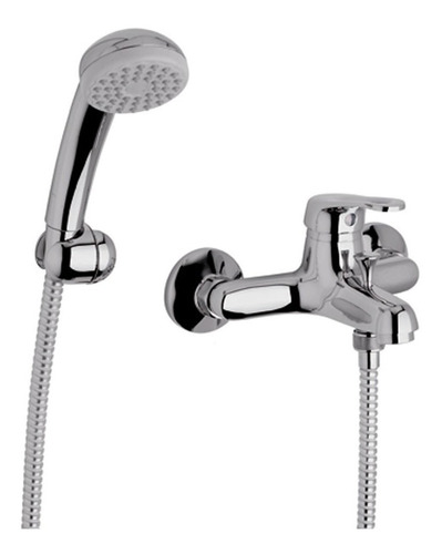 griferia fv arizona monocomando ducha exterior con transferencia 0310/b1 cromo duchador garantía baño cierre cerámico