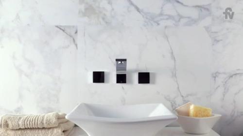griferia fv lavatorio pared soft touch chalten 0203/h4