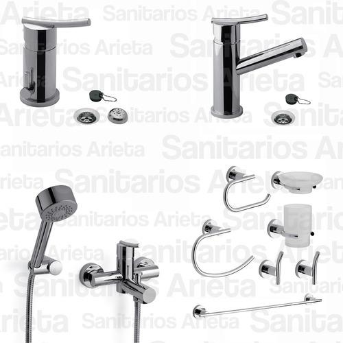 griferia fv monocomando libby lavatorio ducha bide ac cs2114